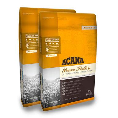 Acana Prairie Poultry - 2x11.4 kg Pack Ahorro