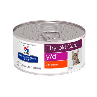 Hill's Feline Prescription Diet lata y/d
