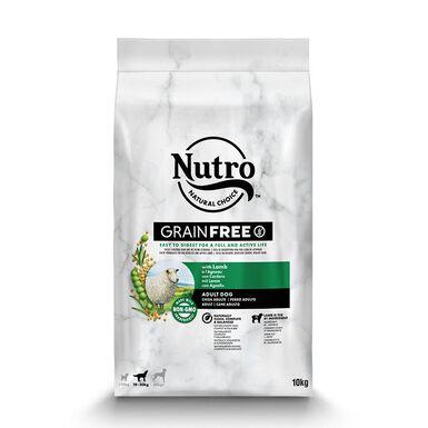 Nutro Grain free adulto mediano cordero
