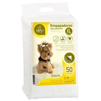 TK-Pet XL Limón empapadores para perros cachorros