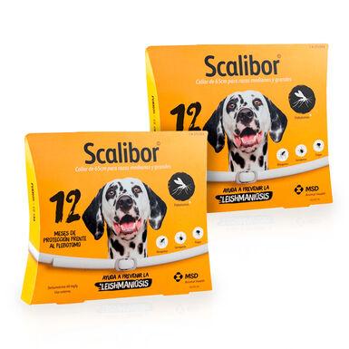 Scalibor Collar Antiparasitario para perros 2x65 cm