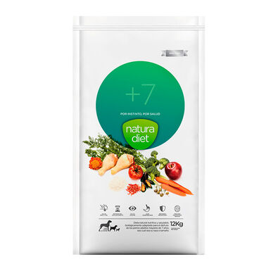 Natura Diet + 7 alimento para perro 12 kg