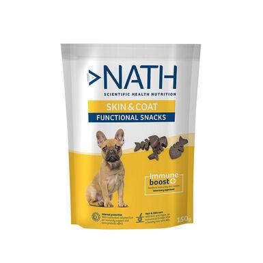 Snack para perros Nath Adult Skin & Coat 150 gr