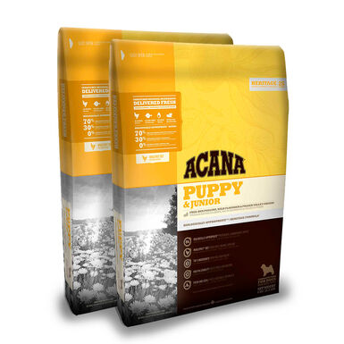 Acana Puppy & Junior - 2x11,4 kg Pack Ahorro