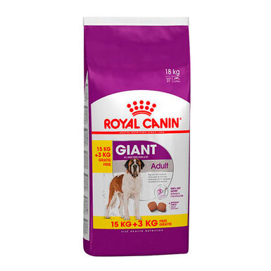 Royal Canin Giant Adult 18 kg (15 kg + 3 kg gratis)