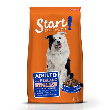 Start Adult pescado y verduras para perro