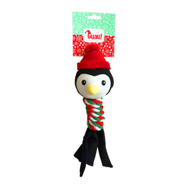 Juguete de cuerda Pingüino de Guau Christmas para perro