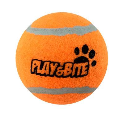 Pelota de Tenis Naranja Play&Bite