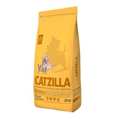 Catzilla Kitten pollo