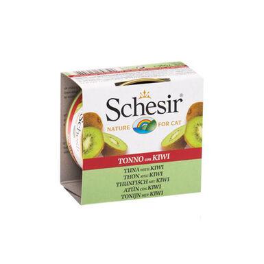 Pack 14 Latas Schesir alimento húmedo superpremium con frutas 75 gr