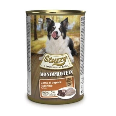 Stuzzy Monoprotein Pavo comida húmeda para perro