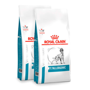 Royal Canin Veterinary Diet Anallergenic - 2x8 kg Pack Ahorro