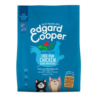 Edgard & Cooper gato senior pollo de corral y pescado 1,75 kg