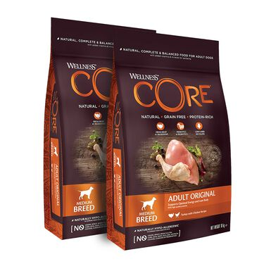 Wellness Core Original - 2x10 kg Pack Ahorro