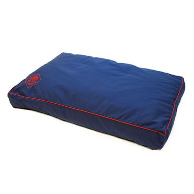 TK-Pet woof azul viscoleástica cama para perros