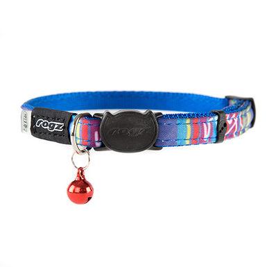 Rogz Neocat collar para gato azul