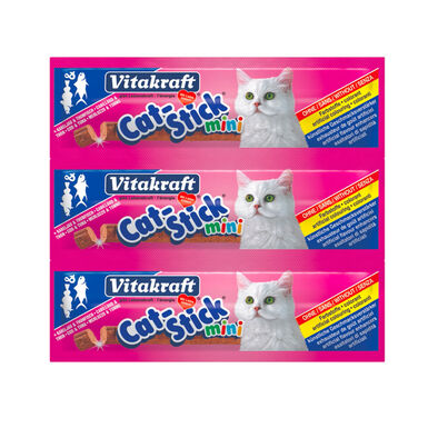 Mini Snack Bacalao y Atún para Gatos Vitakraft