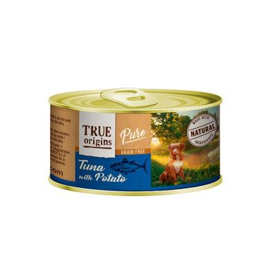 Pack 12 Latas True Origins Pure para perro 185 gr