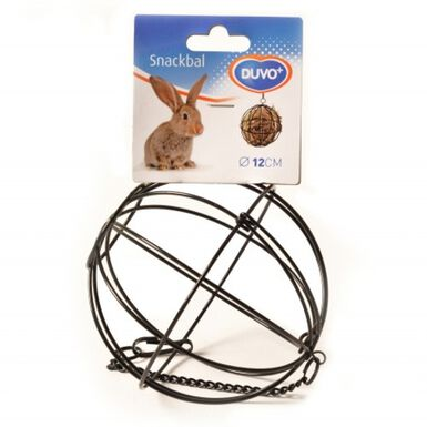 DUVO metálica esférica portaverdura cesta roedores