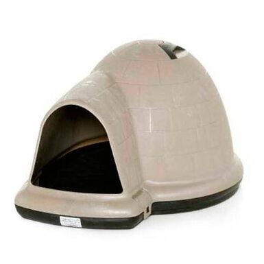 Petmate Índigo caseta para perros iglú plástico