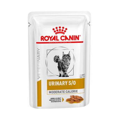 Pack 12 Sobres Royal Canin Veterinary Diet Feline Urinary S/O 85gr