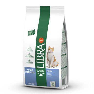 Pienso para gatos Affinity Libra Esterilizado Atún 1,5 kg