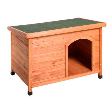 Karlie Caseta techo plano para perro: Pequeña