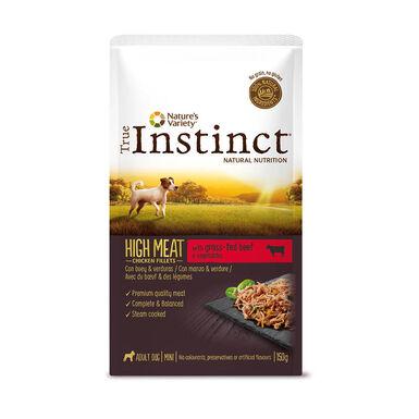 True Instinct Sobre perros de raza mini 8 x 150gr