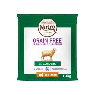 Nutro Grain Free junior razas medianas cordero