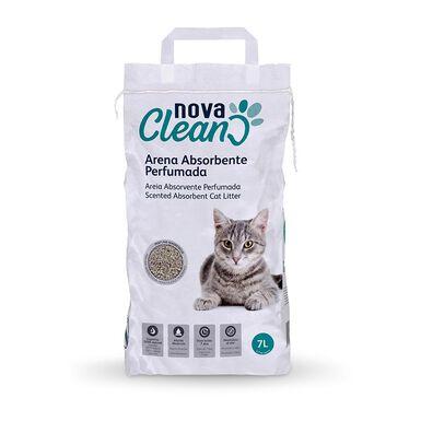 Nova Clean Arena perfumada absorbente para gatos