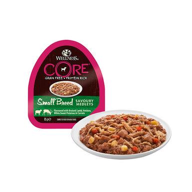 Wellness Core tarrina 85 gr razas pequeñas
