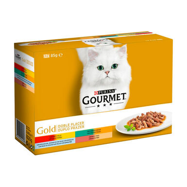 Gourmet Gold Doble Placer Surtido 12x85 gr