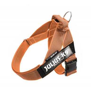 Julius K9 IDC arnés para perros nylon naranja asa