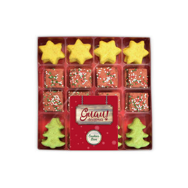 Snacks Cookies Box Guau Christmas para perro