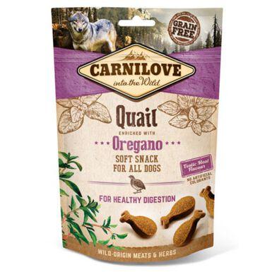 Carnilove Soft Snack Codorniz snack para perros