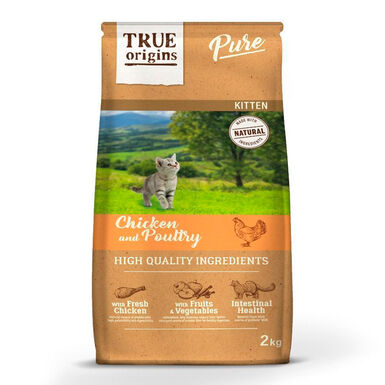 True Origins Pure Kitten Poultry Pollo