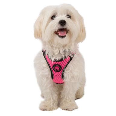 TK-Pet Easy Click rosa arnés para perros
