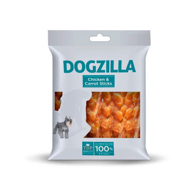 Sticks Dogzilla Pollo y Zanahoria 100 gr