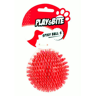 Pelota Spiky de Play&Bite para perro