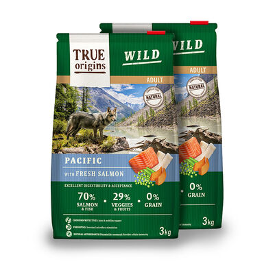 True Origins Wild Dog Pacific Adult - 2x3 kg Pack Ahorro