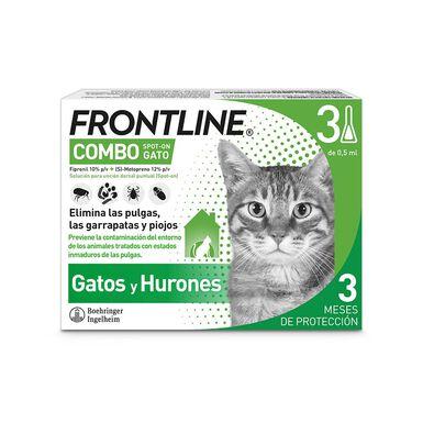 Frontline Combo Antiparasitario para gatos