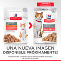 Pack 12 Sobres Hill's Science Plan Young Adult Sterilised Cat salmón, , large image number null