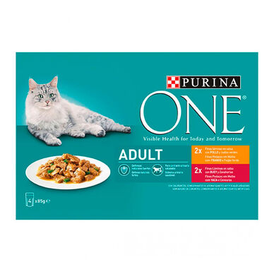 Purina One Wet Adult 4 x 85 gr