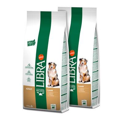 Affinity Libra Adult Cordero - 2x15 kg Pack Ahorro
