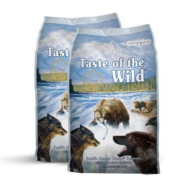 Taste of the Wild Pacific Stream salmón - 2x12,2 kg Pack Ahorro
