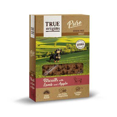 True Origins galletas varios sabores para perro 320g