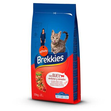 Brekkies Excel Feline buey, ternera y verduras