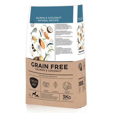 Natura Diet Grain Free salmón pienso para perros