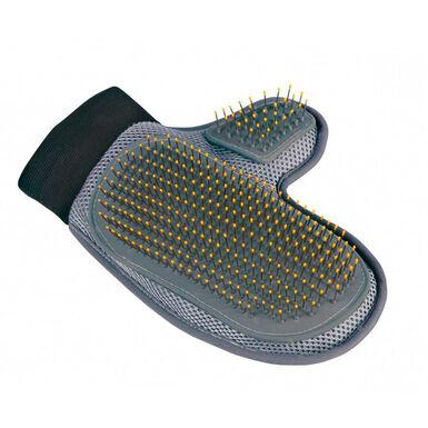 Guante de cardas metálicas Trixie para el cuidado del pelaje