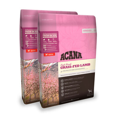 Acana All Breeds Gras-Fed Lamb cordero - 2x17 kg Pack Ahorro